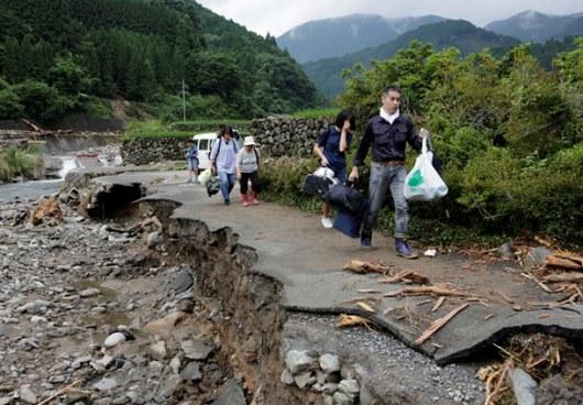 Взоне наводнения в КНР оказались 12 млн. граждан